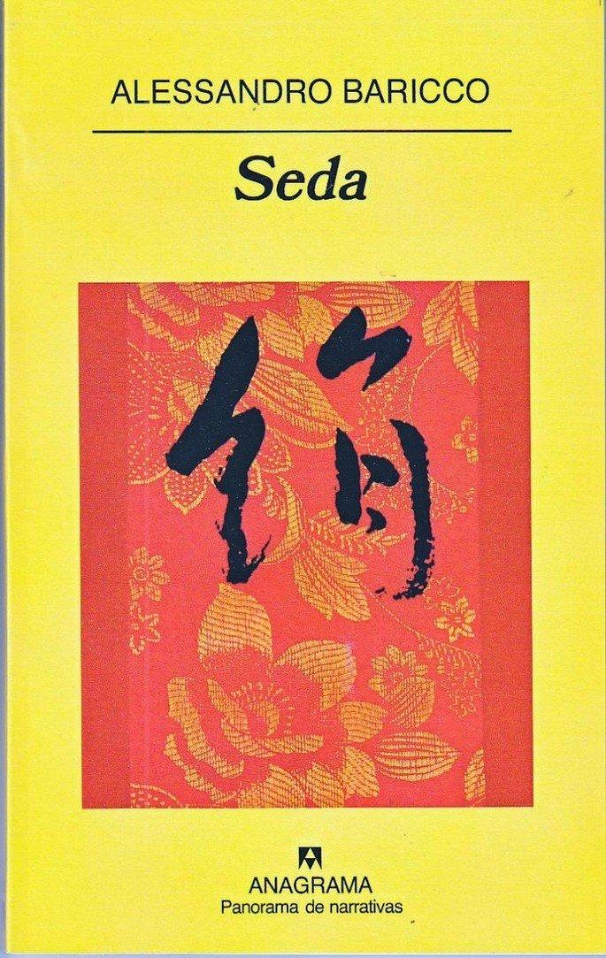 Portada del libro Seda