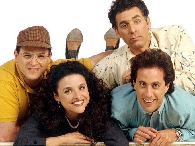 Fotograma de la serie Seinfeld