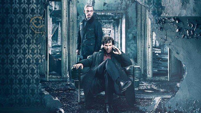 Fotograma de la serie Sherlock