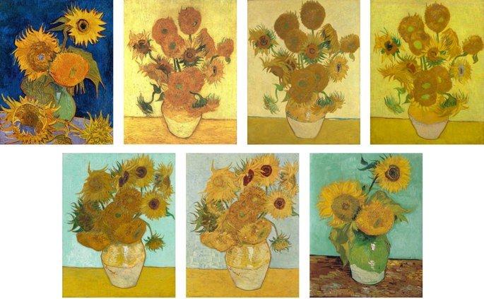 Girasoles de Vincent van Gogh