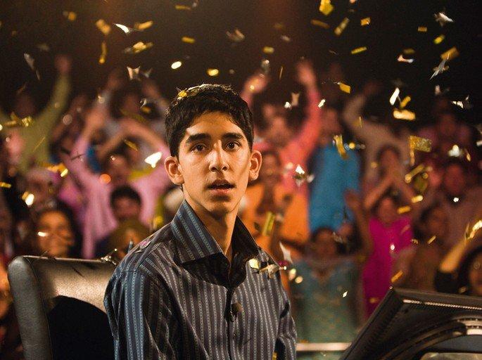 Fotograma de la película Slumdog Millonaire.