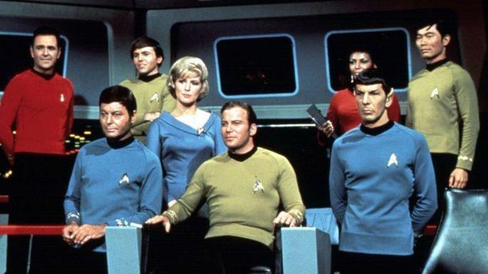 Fotograma de la serie Star Treck