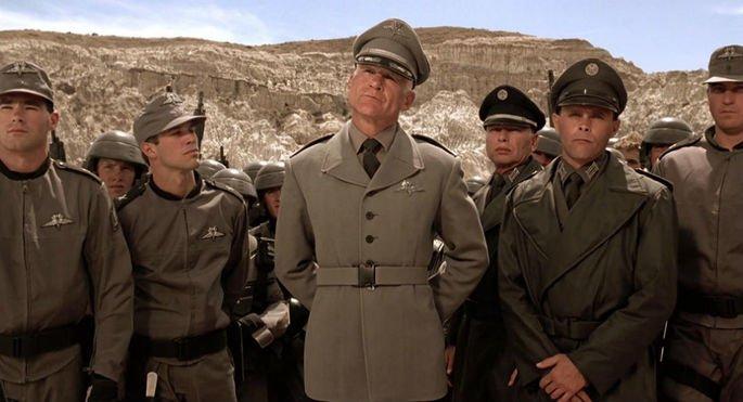 Fotograma de la película Starship troopers: las brigadas del espacio