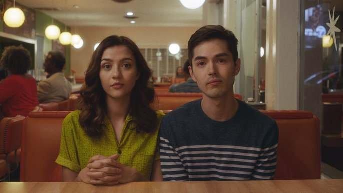Fotograma de la película Straight up