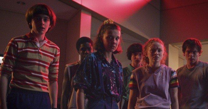 Fotograma de la serie Stranger Things