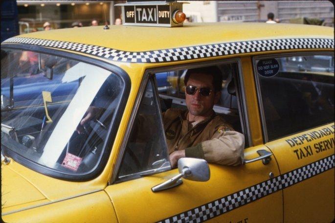 Fotograma de la película Taxi driver