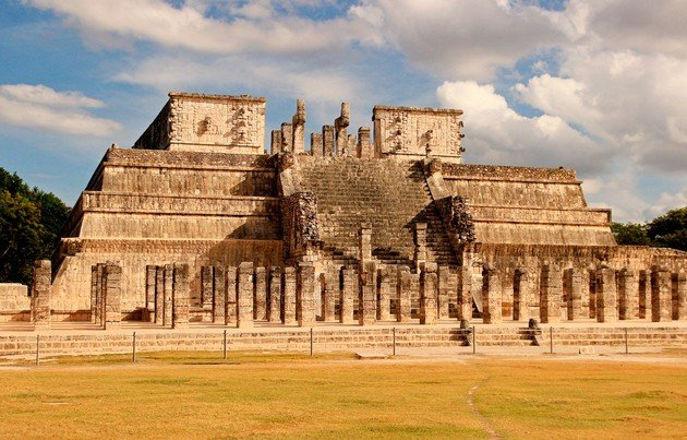 Templo de los Guerreros.