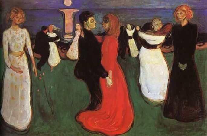 Edvard Munch: La danza de la vida, 1899,