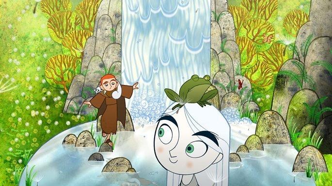 Fotograma de la película The Secrets of Kells
