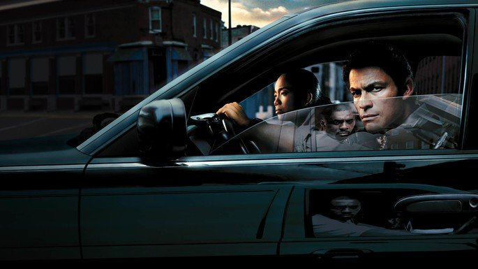 Fotograma de la serie The Wire