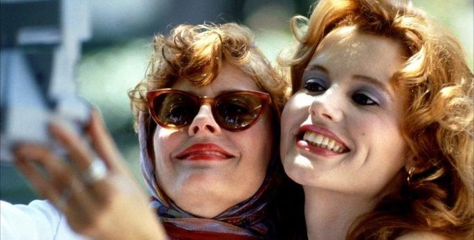 Fotograma de la película Thelma & Luise