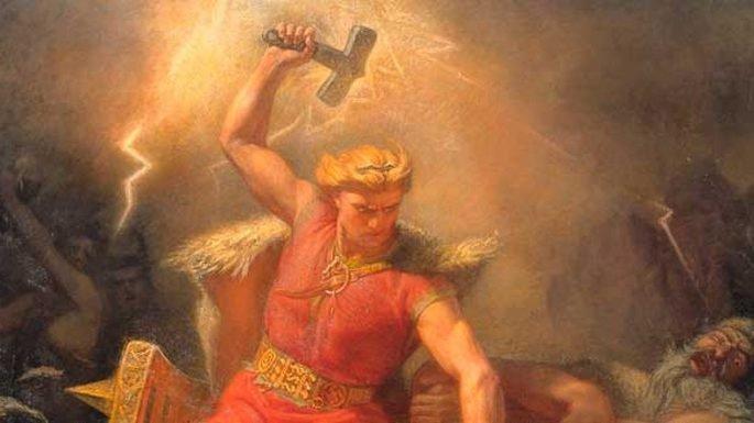 Thor en la mitología nórdica.