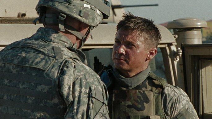 Fotograma de la película En Tierra hostil