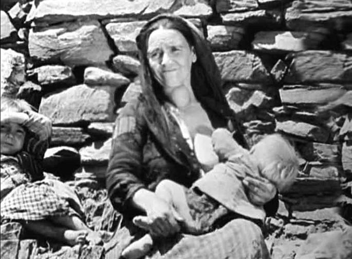 Mujer en Tierra sin pan