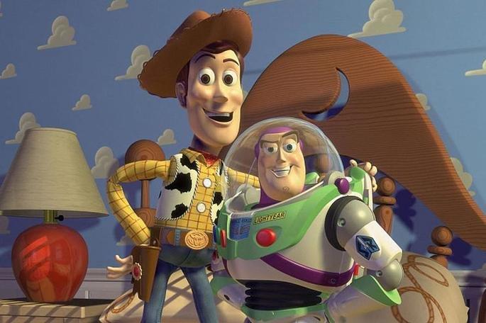 Fotograma de la película Toy Story