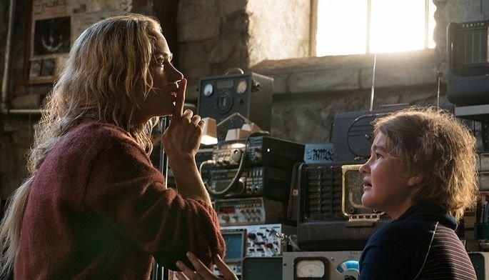 Fotograma de la película Un lugar silencioso