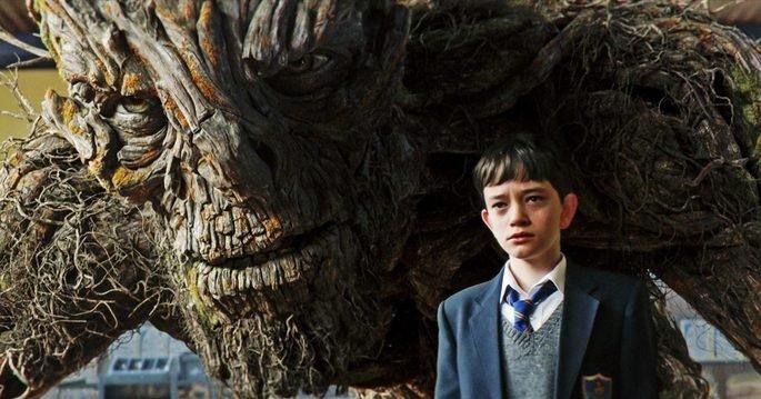 Fotograma de la película Un monstruo viene a verme