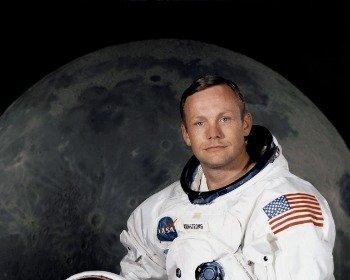 Frase Un pequeño paso para el hombre, un gran salto para la humanidad, de Neil Armstrong