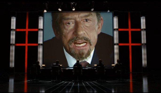 Fotograma de la película V de vendetta