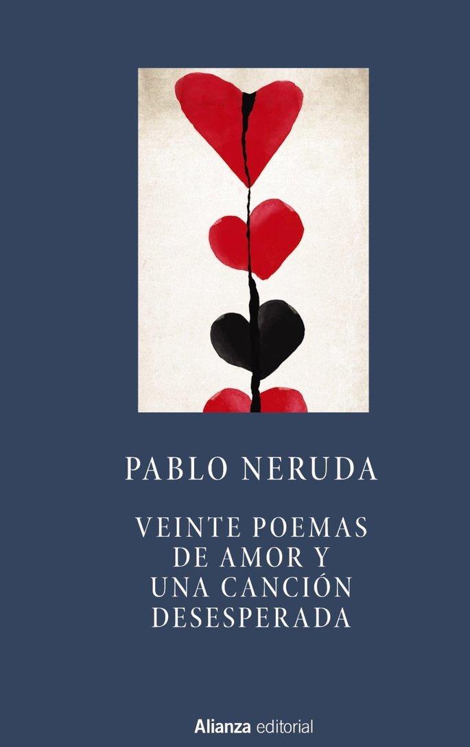 Portada del libro veinte poemas de amor y una canción desesperada