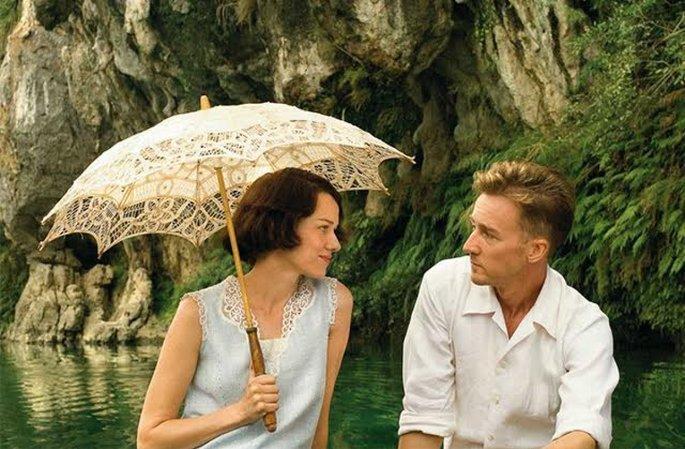 Fotograma de la película El velo pintado