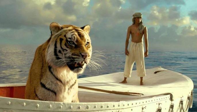 Fotograma de la película La vida de Pi