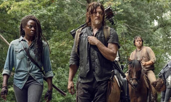 Fotograma de las serie The Walking Dead