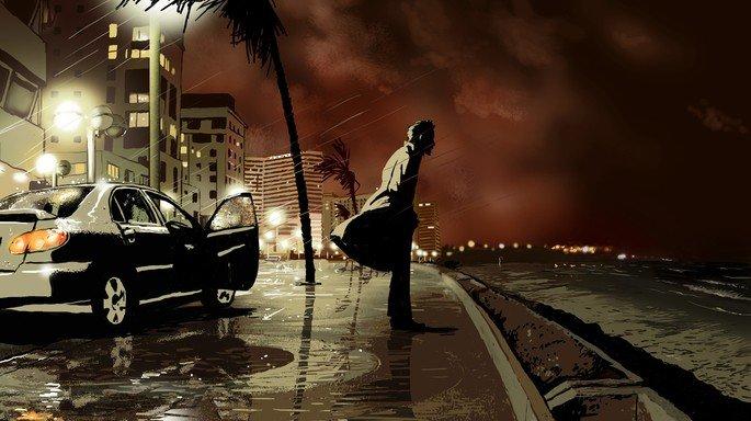 Fotograma de la película Vals con Bashir