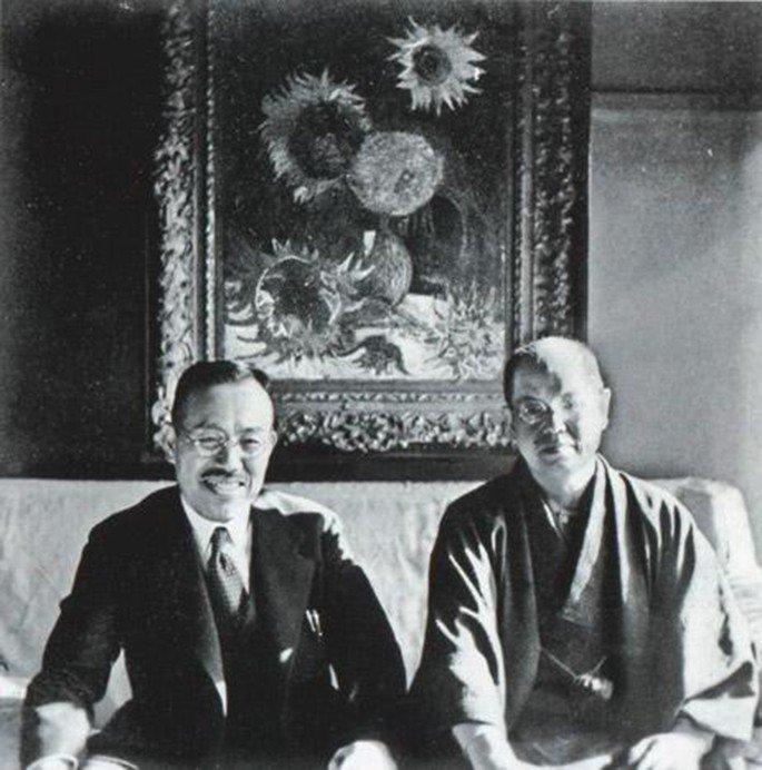 Mushanokoji Saneatsu y Koyata Yamamoto