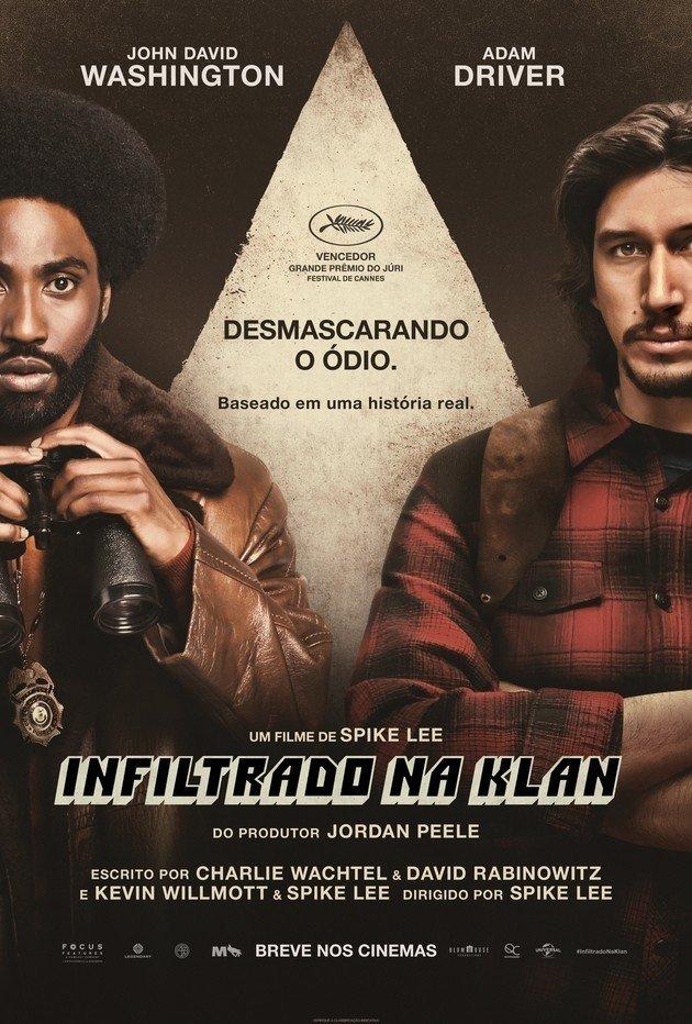 Cartaz do filme Infiltrado na Klan