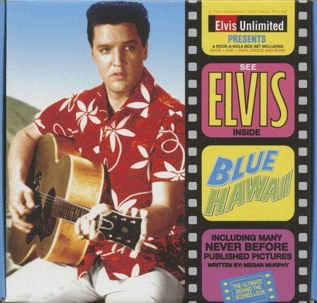 Capa do álbum Blues Hawaii.