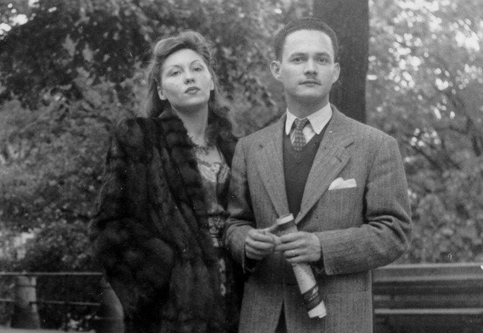 Clarice Lispector e o marido