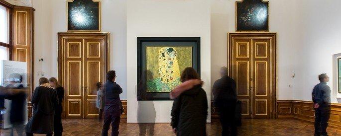 O quadro faz parte do acervo do Belvedere Palace Museum situado em Viena.