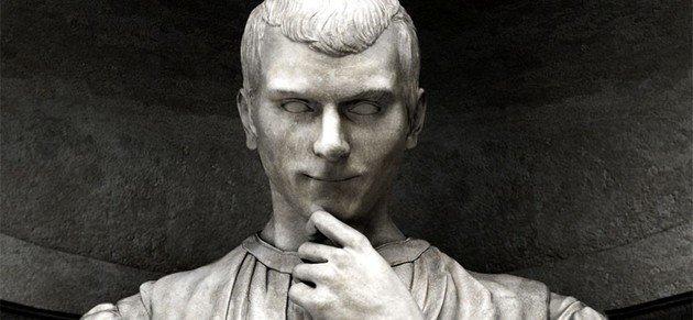 Estátua de Maquiavel.