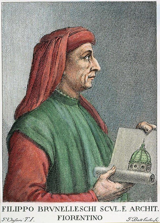 Filippo Brunelleschi, o idealizador da cúpula.