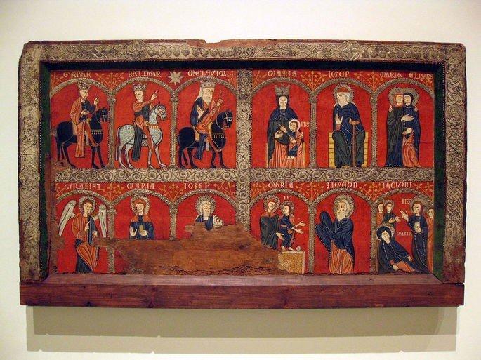 Altar frontal da Igreja Santa Maria de Mosoll (Espanha)