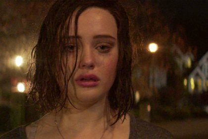Hannah chorando