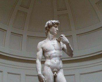 Escultura Davi de Michelangelo