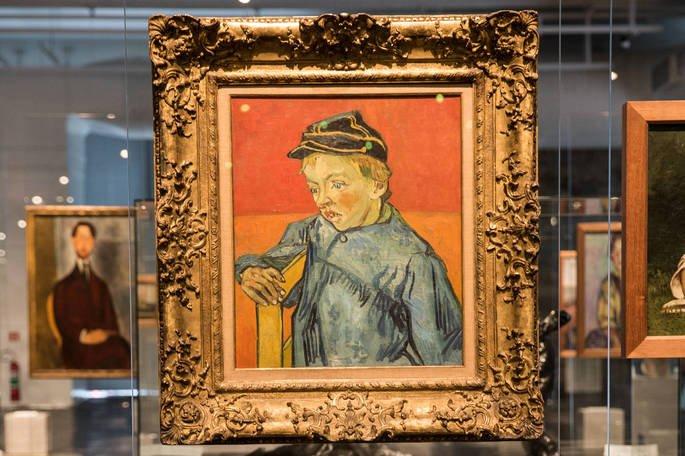 O escolar Van Gogh