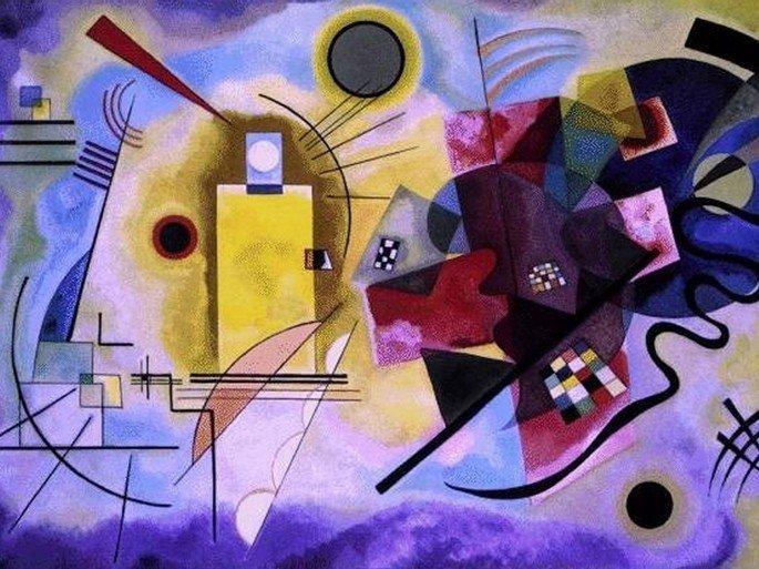 Quadro de Kandinsky (1925)