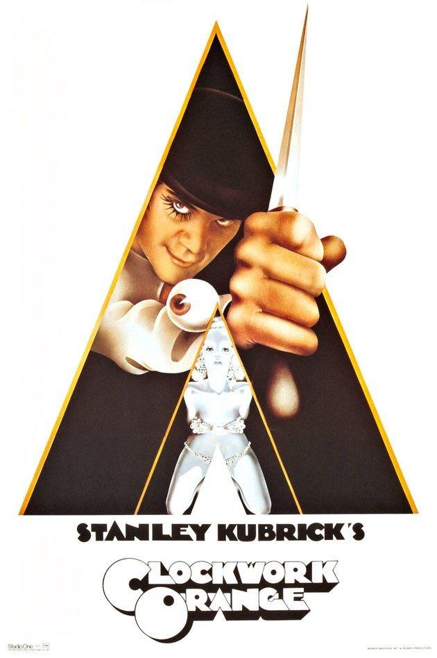 Cartaz do filme Laranja Mecânica (1971)