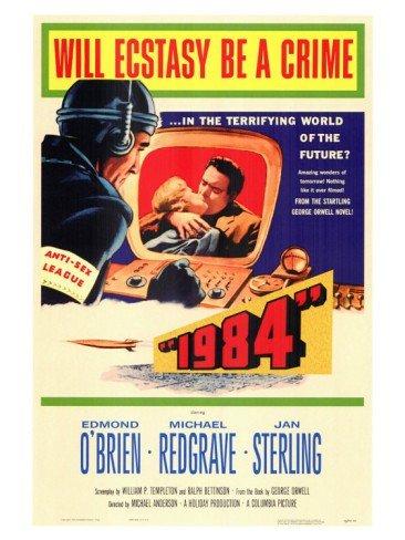 Cartaz da adaptação cinematográfica dirigida por Michael Anderson.