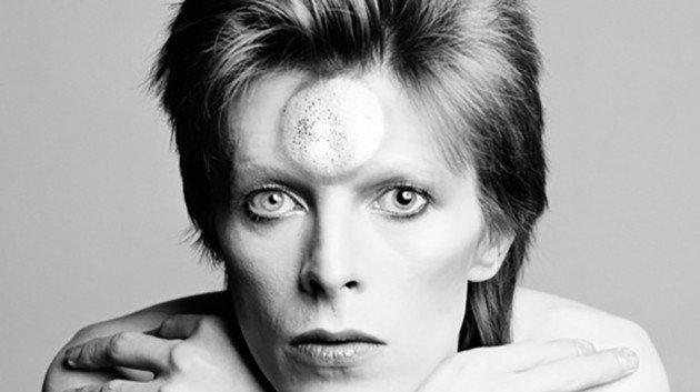David Bowie por Masayoshi Sukita (1973).