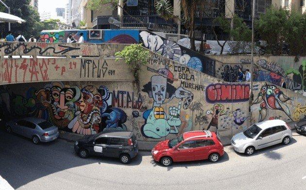Quais são os limites entre o grafite e a pichação?