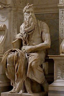 Detalhe de Moisés