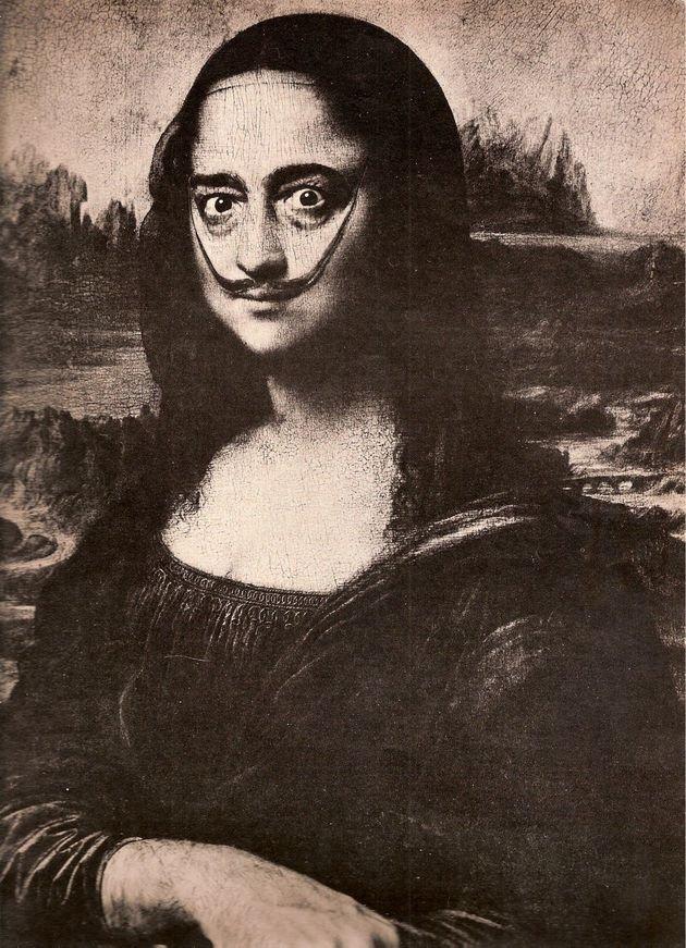 Salvador Dali, Auto-retrato como Mona Lisa (1954)