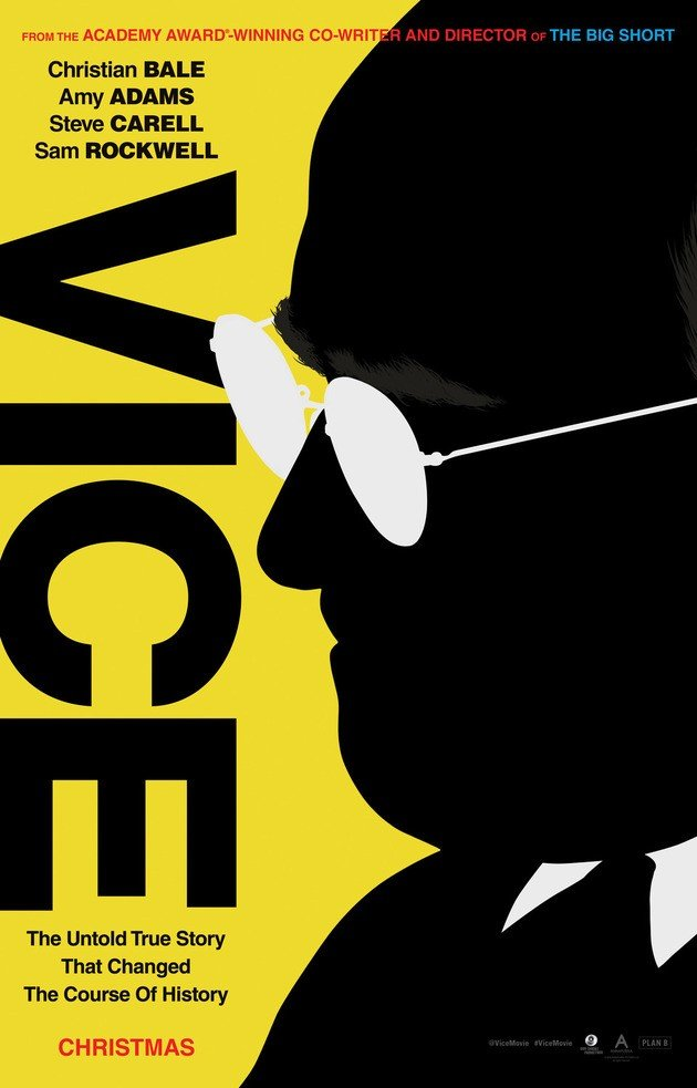 Cartaz do filme Vice.