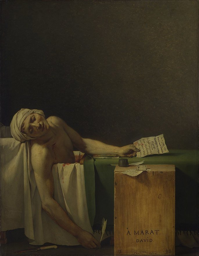 Marat assassinado
