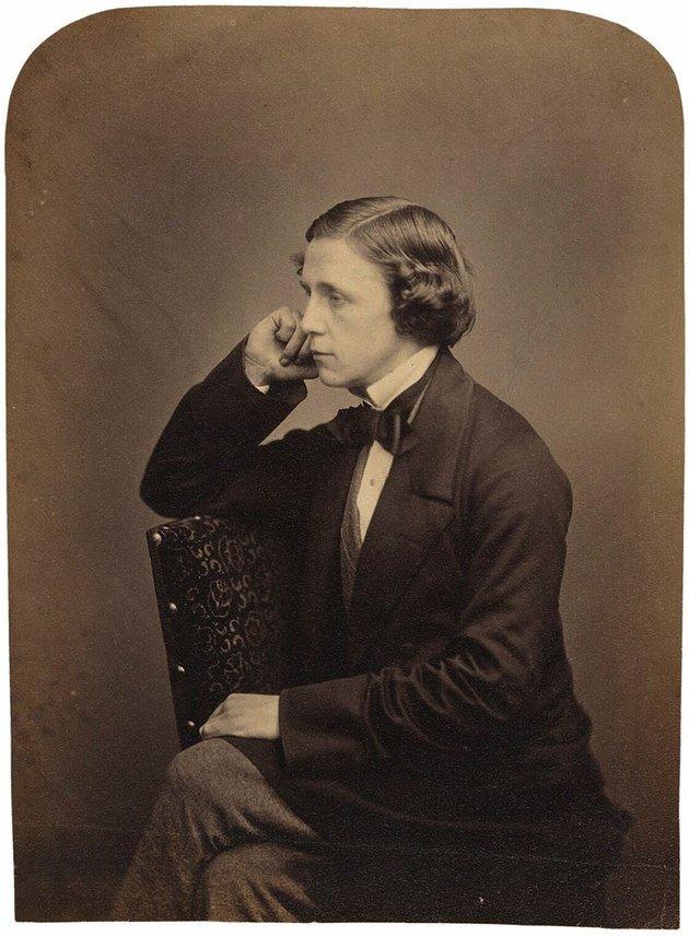 Autoretrato de Lewis Carroll, junho de 1857.
