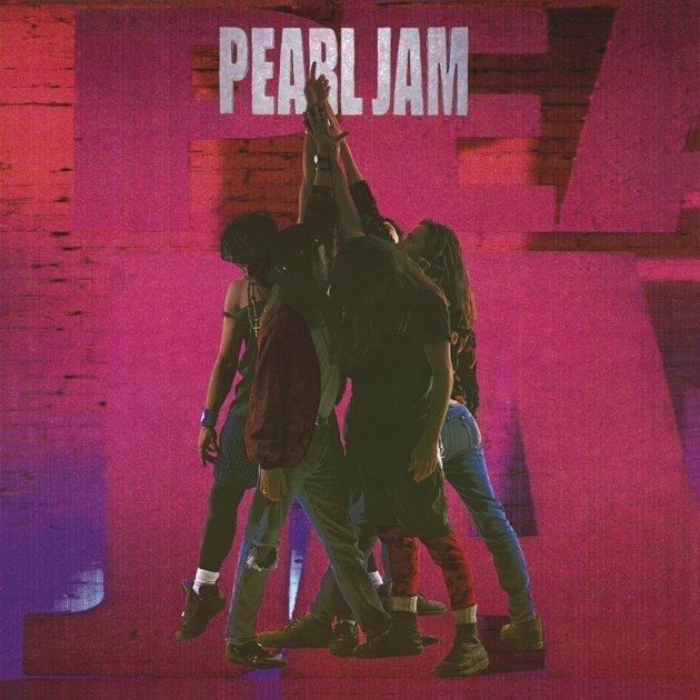 Capa do álbum Ten, lançado em 1990, que abriga a canção Alive.
